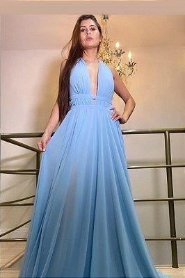 Vestido Lara Azul Serenity