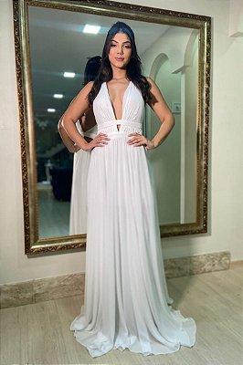 Vestido Lara Branco