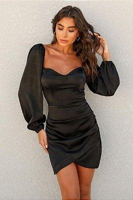 Vestido Iara Preto