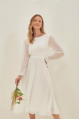 Vestido Romana Off White