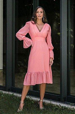 Vestido Valentina Coral