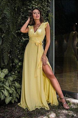Vestido Rita Amarelo