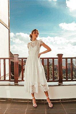 Vestido Caterine Branco