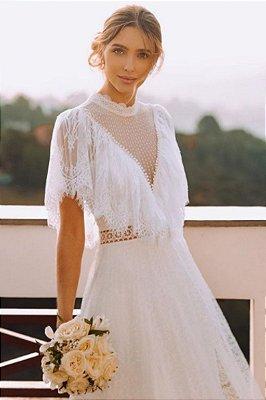 Vestido Isabeli Branco