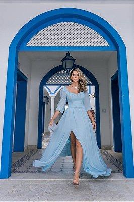 Vestido Daiane Azul Serenity