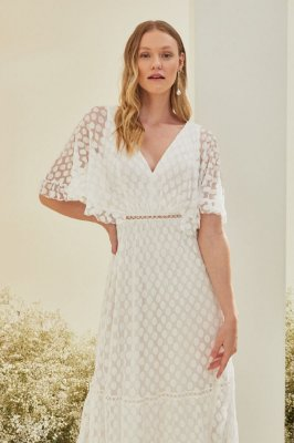 Vestido Analu Off White