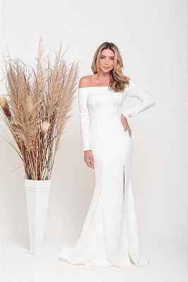 Vestido Cláudia Off White