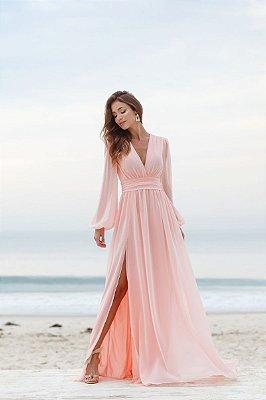 Vestido Fabiola Rosa