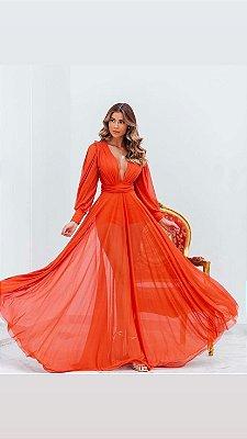 Vestido Grace Terracota