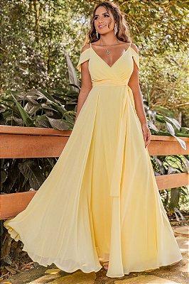 Vestido Rihana Amarelo
