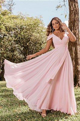 Vestido Rihana Rosa