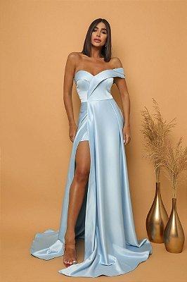 Vestido Thalía Azul Serenity