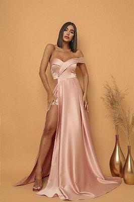 Vestido Thalía Rosa