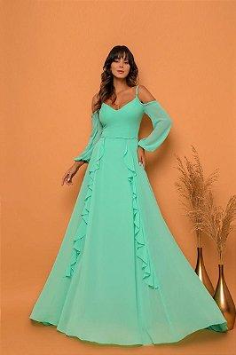 Vestido Dulce Verde Tiffany