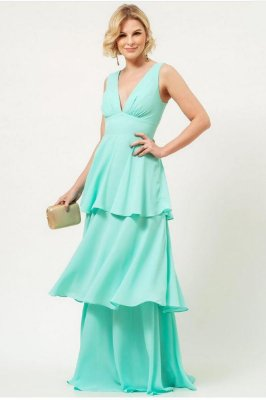 Vestido Sarah Verde Tiffany