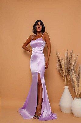 Vestido Malibu Lilas