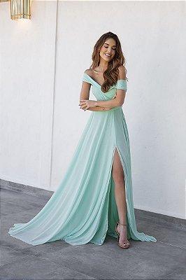 Vestido Malory Verde Tiffany