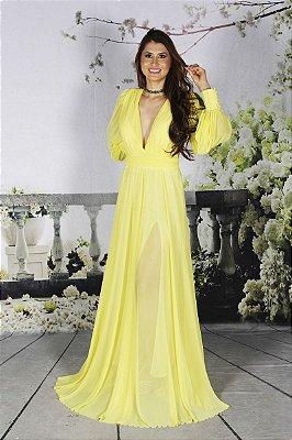Vestido Grace Amarelo