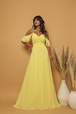 Vestido Amélia Amarelo