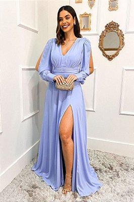 Vestido Loren Azul Serenity