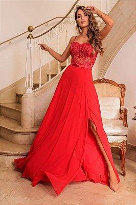 Vestido Júlia Vermelho