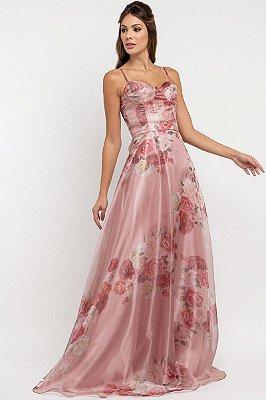 Vestido Lina Floral Rosa