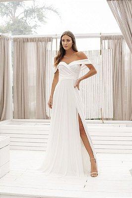 Vestido Malory Off White