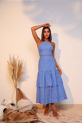 Vestido Ully Azul Serenity