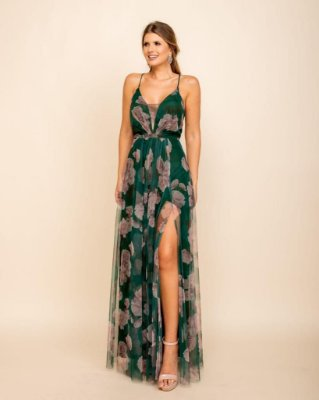Vestido Verônica Verde Musgo
