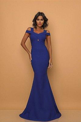 Vestido Briana Azul Royal