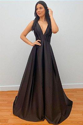 Vestido Nívia Preto