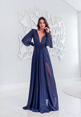 Vestido Grace Azul Marinho