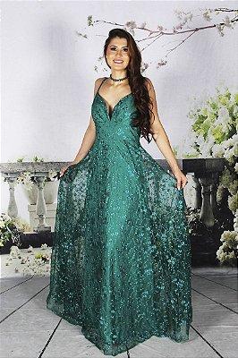 Vestido Pérola Verde