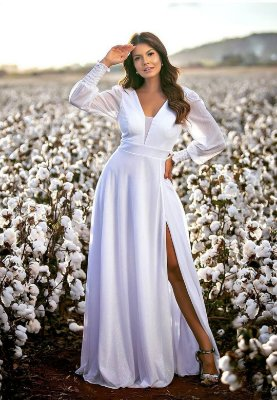 Vestido Scarlet Branco