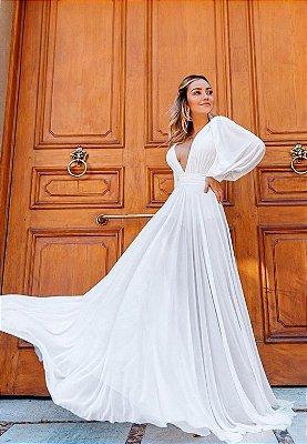 Vestido Grace Branco