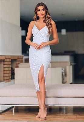 Vestido Mary Branco