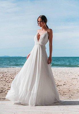 Vestido Maju Off-White