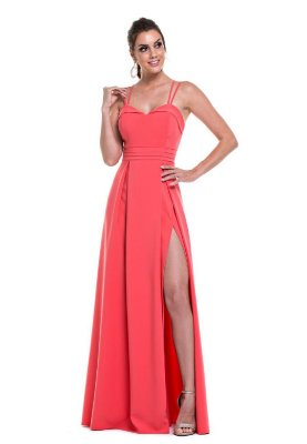 Vestido Florenza Coral