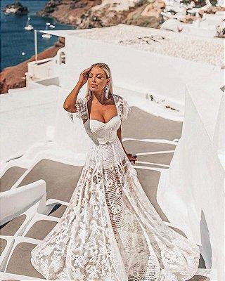 Vestido Joana Branco