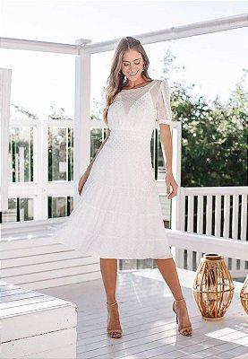 Vestido Alexa Off-White