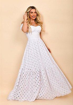 Vestido Verônica Branco