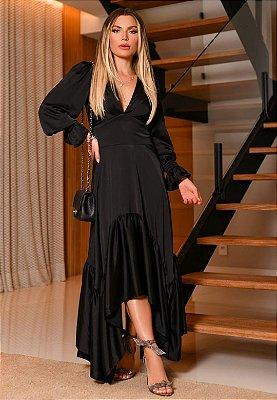 Vestido Thalia Preto
