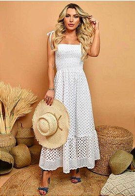 Vestido Maitê Off-White