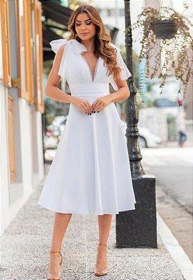 Vestido Celine Branco