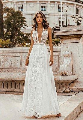 Vestido Clarice Branco