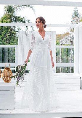 Vestido Antonella Off-White