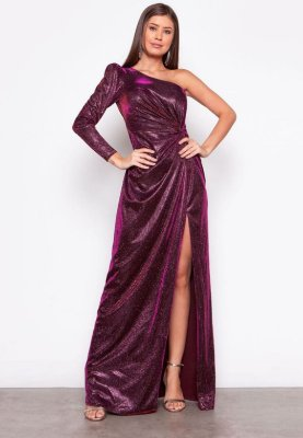 Vestido Angelina Magenta