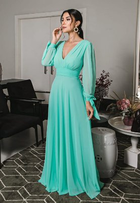 Vestido Catalina Verde