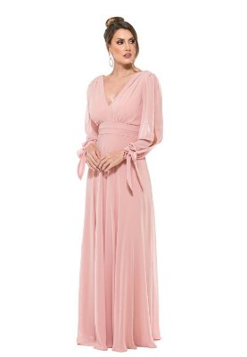Vestido Catalina Rosa