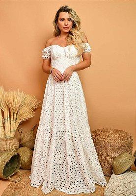 Vestido Verônica Off-White